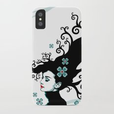 Audrey Hepburn Natural line Slim Case iPhone X