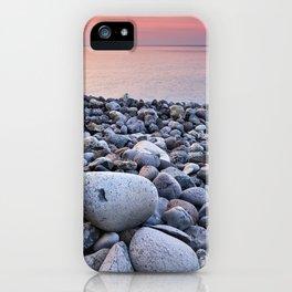 Santiago Beach. La Gomera Island. Canary Islands At sunrise iPhone Case