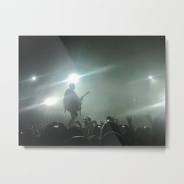 Silhouettes and Songs Metal Print