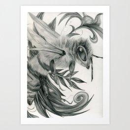 Ornamental Bee Art Print