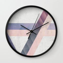 Unespected Geometry Wall Clock