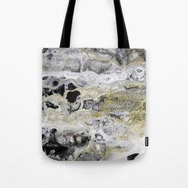 Fluid Lace Tote Bag