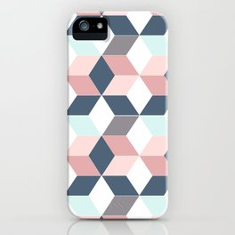 Starry cubes iPhone Case
