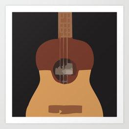 Cuatro Strings Art Print