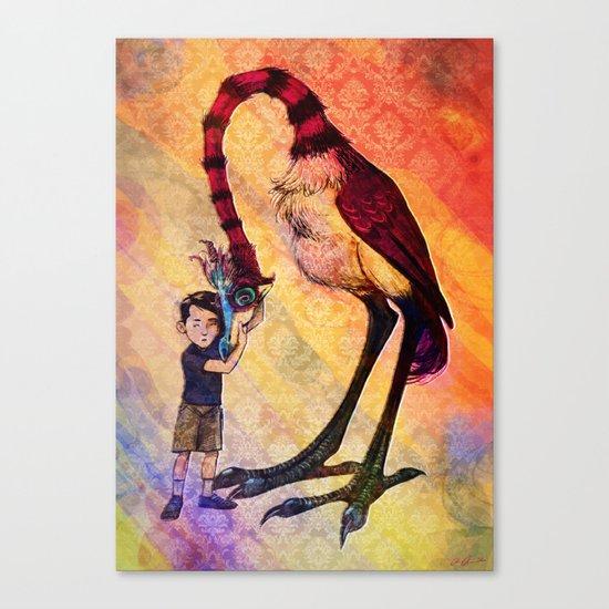 Havard's Bird Canvas Print