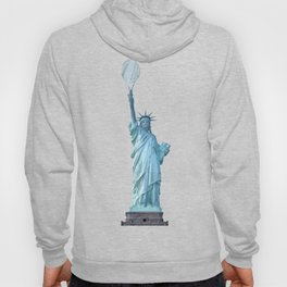 Statue of Liberty with Tennis Racquet Hoody