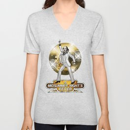 A Midsummer Night's Fever Unisex V-Neck