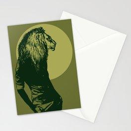 leone pistacchio Stationery Cards