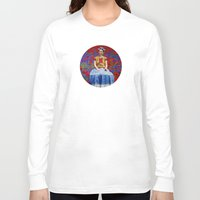 ezra koenig Long Sleeve T-shirts featuring FRIDA dreaming away by UtArt