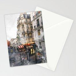 Montmartre Paris Stationery Cards