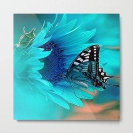 Beauty Fly Metal Print