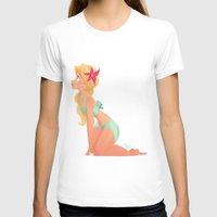 bikini T-shirts featuring Bikini Girl by Katikut