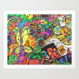 Beauty Collage  Art Print