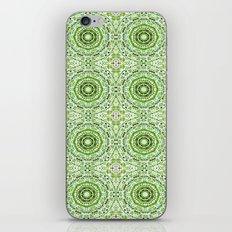 Green Denim Mandalas iPhone & iPod Skin