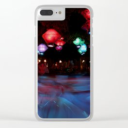 Mad Tea Clear iPhone Case