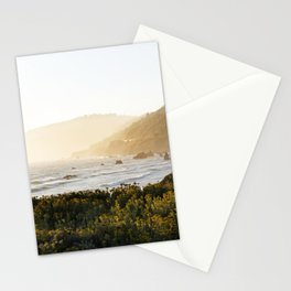 Route 1 along the Pacific Ocean in Northern California Stationery Cards