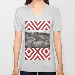 Wait me in your Quilty cover Unisex V-Neck