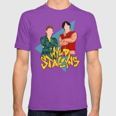 Bill and Ted Wyld Stallyns Ultraviolet Mens Fitted Tee X-LARGE