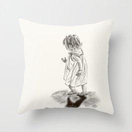Runaway Throw Pillow