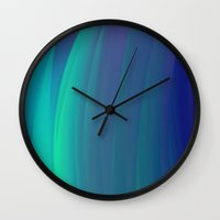 sound Wall Clocks featuring Sound by Kali Thomas