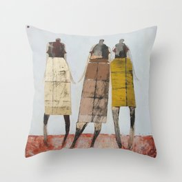 Remixed Throw Pillow