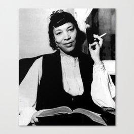 Zora Neale Hurston - Black Culture - Black History Canvas Print