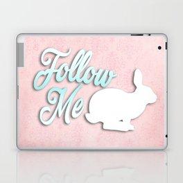 Follow the White Rabbit Laptop & iPad Skin