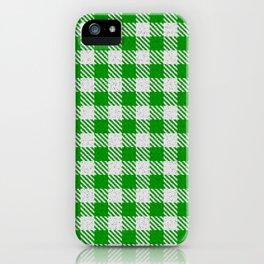 Islamic Green Buffalo Plaid iPhone Case