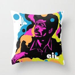 Soul Activism :: Gil Scott-Heron Throw Pillow