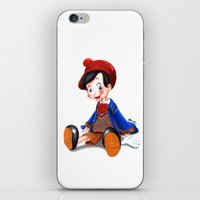 gucci iPhone & iPod Skins featuring Pinocchio x Gucci by Olivia Au