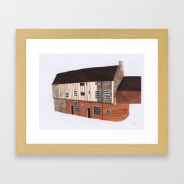 Dragon Hall, Norwich Framed Art Print