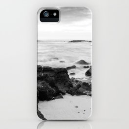 Dramatic coastline at Poipu beach in Kauai, Hawaii iPhone Case