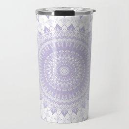 Boho Pastel Purple Mandala Travel Mug