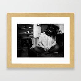 Gone // Framed Art Print