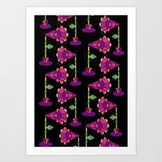 Mega Floral Art Print