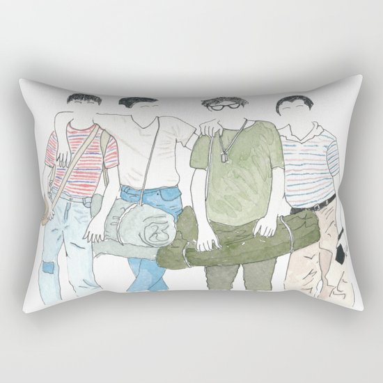 Still Standing Rectangular Pillow