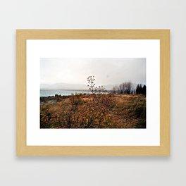 Lake Tekapo: May Blues Framed Art Print
