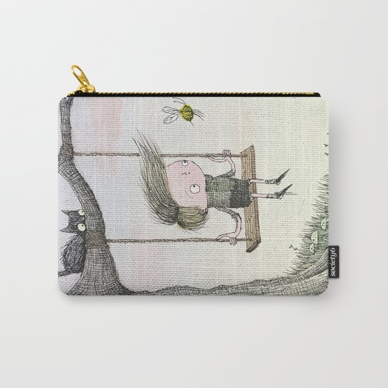 'Boy & Bee' Carry-All Pouch