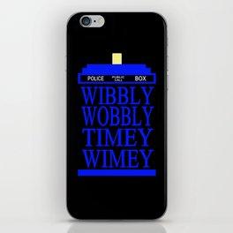 TARDIS iPhone Skin