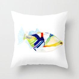 Humuhumunukunukuapua`a Throw Pillow