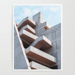 CONCRETE AND LIGHT Poster