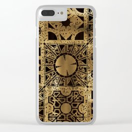 Lament Configuration Spread Clear iPhone Case