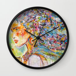 Wind Dancer Wall Clock