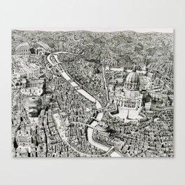 Mini Rome Canvas Print