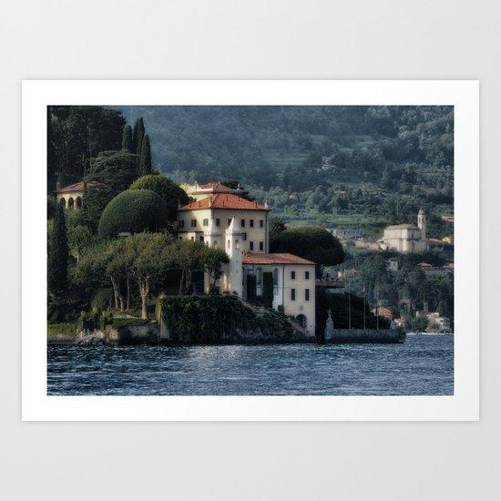 Villa del Balbianello - Lake Como Art Print