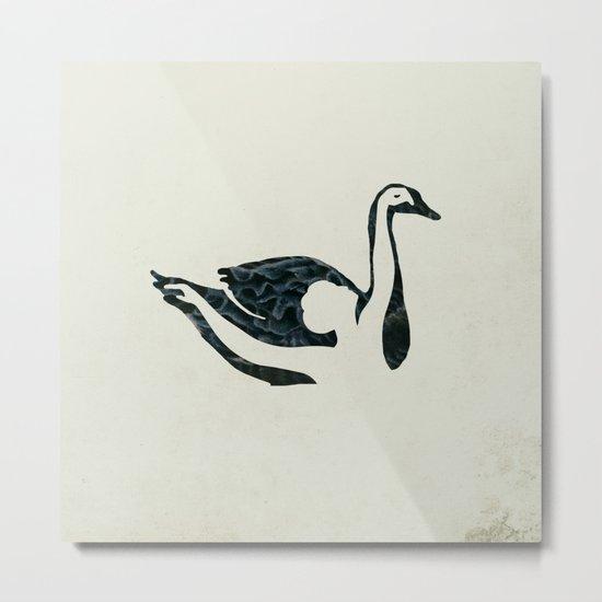 black swan song Metal Print