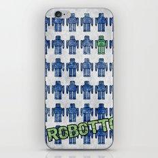 Robotto! iPhone & iPod Skin