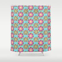 blossom Shower Curtains featuring Blossom by Shelly Bremmer