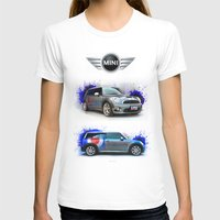 mini cooper T-shirts featuring Mini Cooper S by Urbex :: Siam