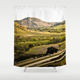Hwy 101 Shower Curtain